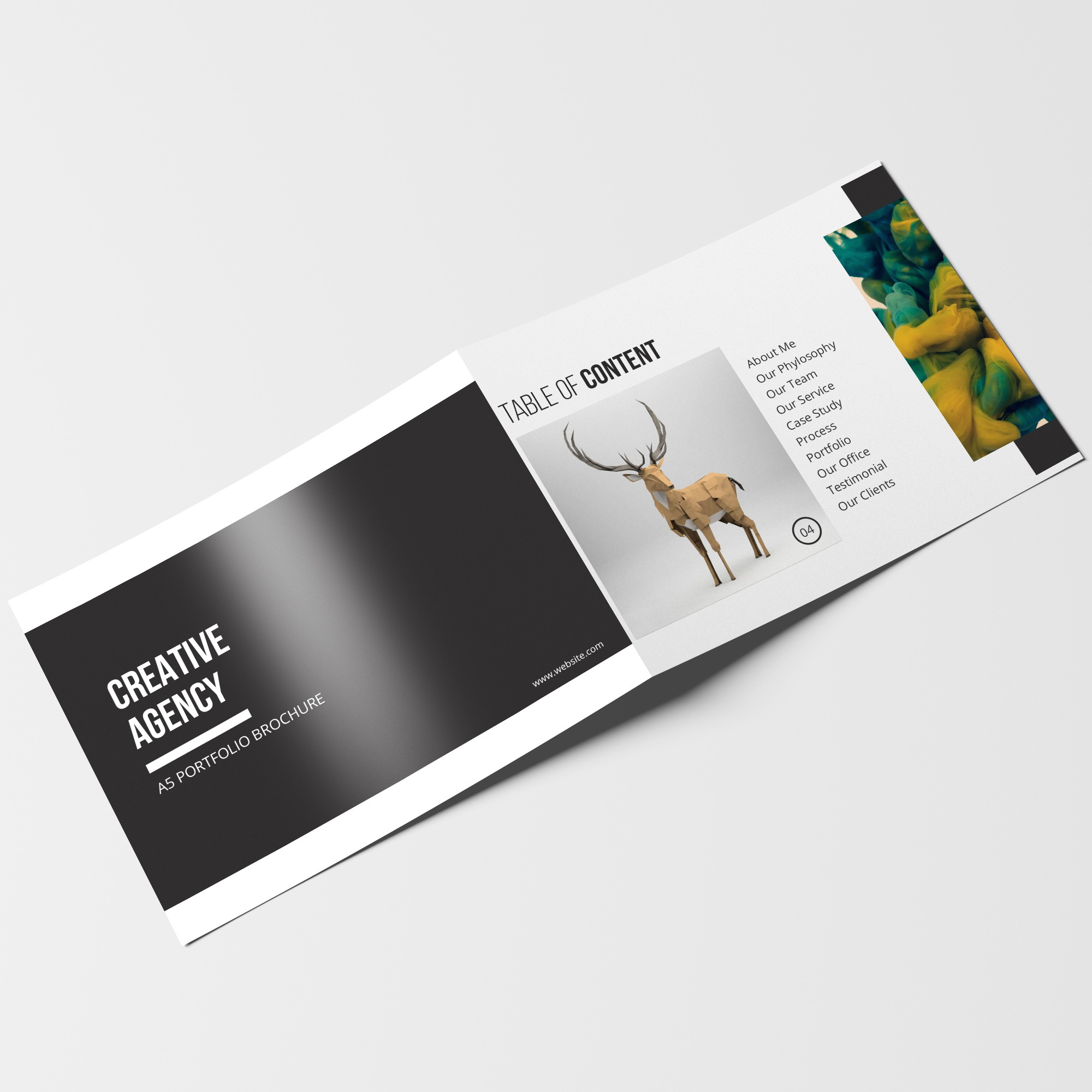 latest amazing corporate brochure design